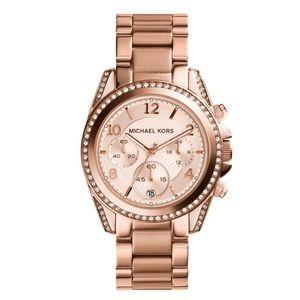 Michael Kors Blair Chronograph Rose Gold Watch